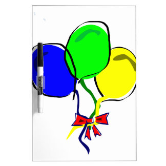Party Ballons Dry Erase Whiteboards