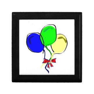 Party Ballons Trinket Box
