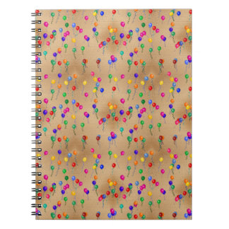 Party Ballons Note Book