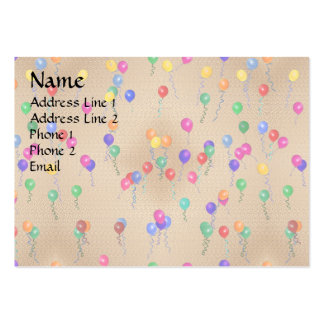 Party Ballons Pack Of Chubby Business Cards