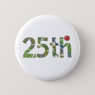 Party Balloon 25th Birthday Gifts 6 Cm Round Badge