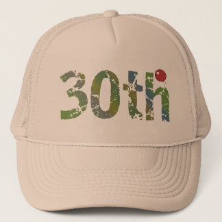 Party Balloon 30th Birthday Gifts Trucker Hat