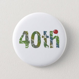 Party Balloon 40th Birthday Gifts 6 Cm Round Badge