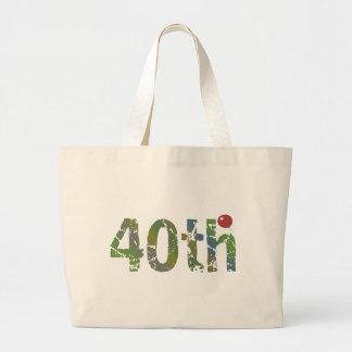 Party Balloon 40th Birthday Gifts Jumbo Tote Bag