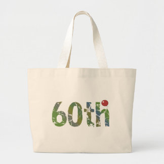 Party Balloon 60th Birthday Gifts Jumbo Tote Bag