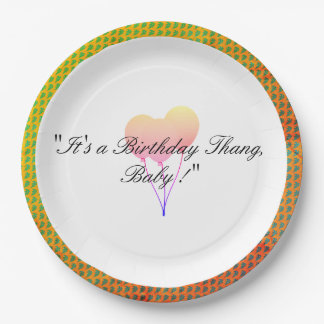 Party-Balloon-Cool-Celebration-Birthday-Supplies Paper Plate