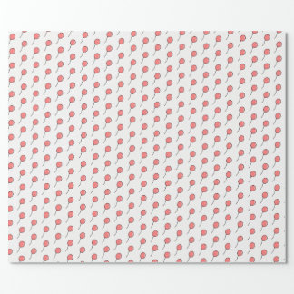 Party Balloon Patterned Wrapping Paper