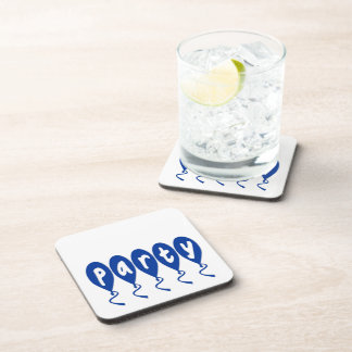 Party Balloons Beverage Coasters