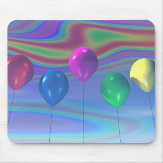 Party Balloons Mousepad