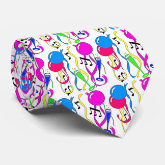 Party Balloons New Years Eve Tie