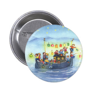 Party Boat with Children Button