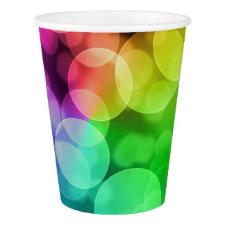 Party Bokeh Paper Cup
