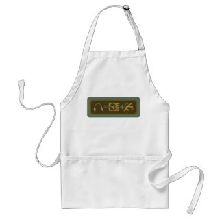 Party Breakdown Standard Apron