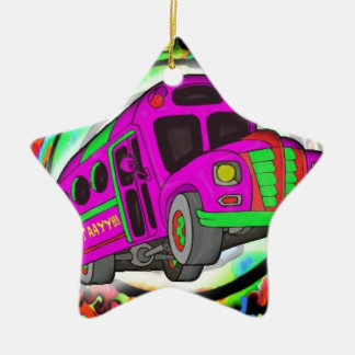 Party Bus.jpg Christmas Ornament