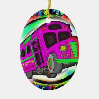 Party Bus.jpg Christmas Ornament