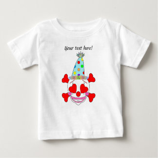 Party Clown Baby Skull Baby T-Shirt