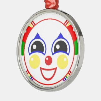 Party Clown Christmas Ornament