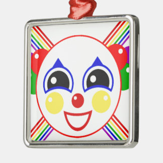 Party Clown Christmas Ornament