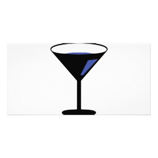 party cocktail icon photo cards