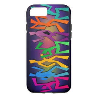 Party Colorful Dancers iPhone 7 Case