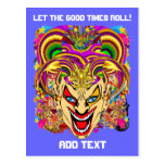 Party Combo Pk Pick from Witch Doctor Jester Clown Postcards