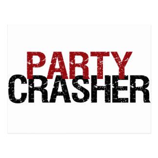 Party Crasher Postcard