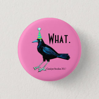 Party Crow Doesn't Have to Tell You button
