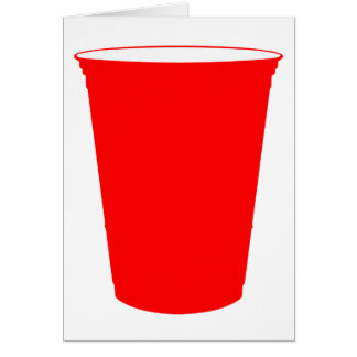 party cup greeting card