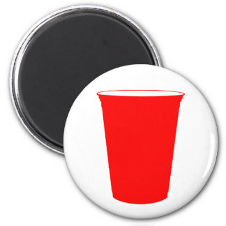 party cup refrigerator magnets