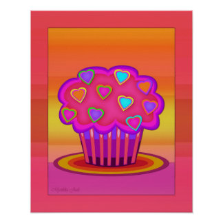 Party Cupcake Poster