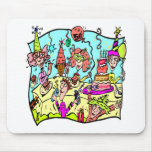 Party Down 50th Birthday Gifts Mouse Mat