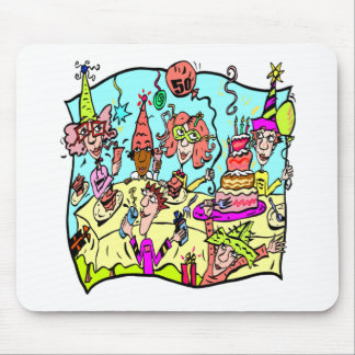 Party Down 50th Birthday Gifts Mouse Pad