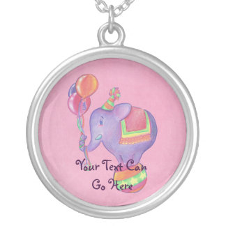 Party Elephant Necklace