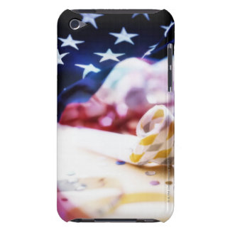 Party Favour and American Flag Barely There iPod Covers