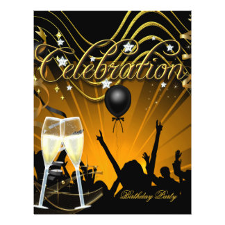 Party Flyer Champagne Party Celebration