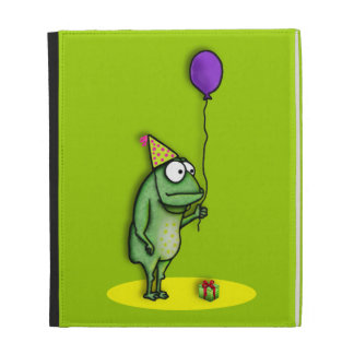 Party Frog iPad Folio Cover