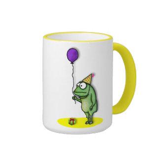 Party Frog Ringer Coffee Mug