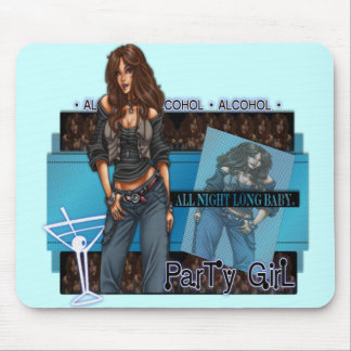 Party Girl - Mousepad