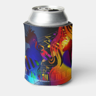 Party Girl With Music Drink Holder