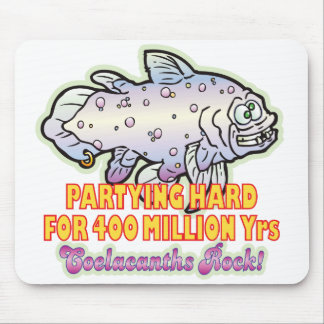 Party Hard Coelacanth Mouse Mats