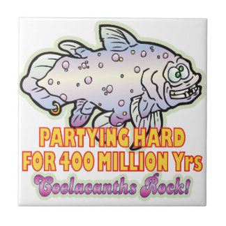 Party Hard Coelacanth Ceramic Tiles