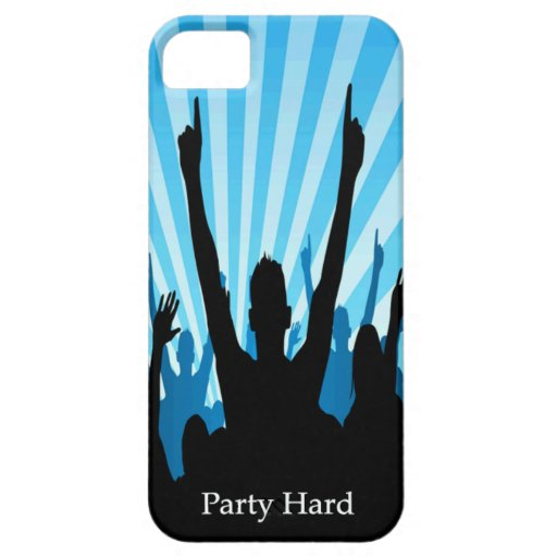 Party Hard  iPhone 5/5S iPhone 5/5S Covers