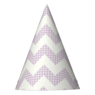 Party Hat/Chevron and Polka Dots Party Hat