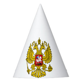 Party hat coat of arms Russia