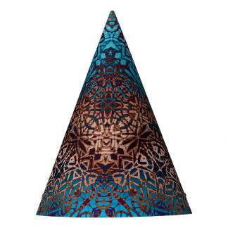 Party Hat Ethnic Tribal Pattern