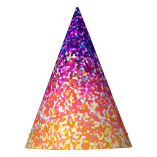 Party Hat Glitter Graphic