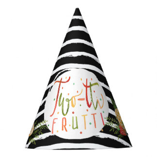 PARTY HAT   Two-tti Frutti Fruit Birthday Party