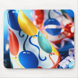 Party Hats Mouse Pad