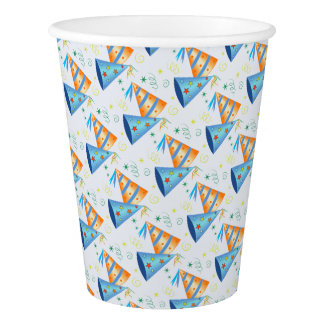 Party Hats Paper Cups