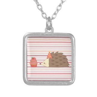 Party Hedgehog and Cupcake Custom Jewelry